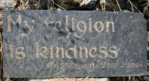 My Religion is Kindness CU