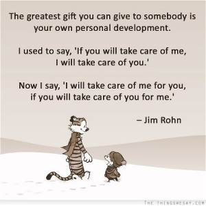 Calvin & Hobbes - Personal Development